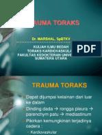 Trauma Toraks II - Dr.marshal Spbtkv