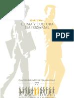 Cuaderno077 - Clima y Cultura Empresarial