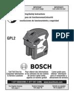 Bosch GPL2 2-Point Self-Leveling Laser