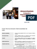 Informe Final Ovalle-coquimbo Intencion de Voto Par Lament Arias 2009