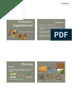 AULA 4 - Cereais e Leguminosas