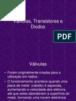 Válvulas, Transistores e Diodos
