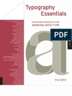Typography Essentials - 100 Design Principles