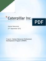 PPT Caterpillar 2012-13