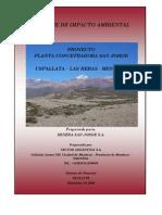 Impacto Ambiental Planta Minera
