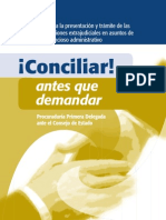 Cartilla Conciliacion Extrajudicial