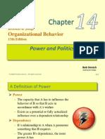 Power and Politics OB