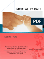 Infant Mortality Rate in  India