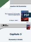 Slides - Cap. 3 Economia e Direito