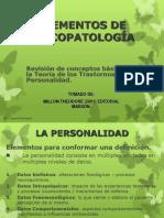 teoria de millon y teoría cognitiva de los trastornos