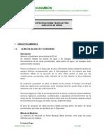 Especificaciones Tecnicas- HUAMBOS