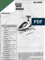 t Rex 700 Manual