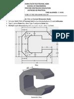 Autocad Practical 3D