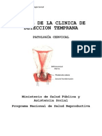 Manual de La Clinica de Deteccion Temprana Colposcopia