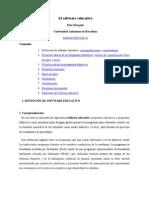 Clasificación Software Educativo