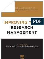 Improving Your Research Management ELS Johnson Book Interior Web