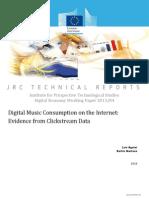 Digital Music Consumption on the Internet