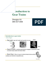 T13 Introduction to Gear Trains