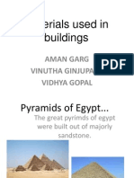 Materials Used in Buildings