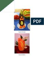 Sebenta de Artes Decorativas Em Frutas