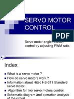 Servo Motor Control