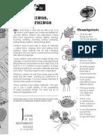 Doing Things, Making Things - Krishnamurti Schools Teacher's File