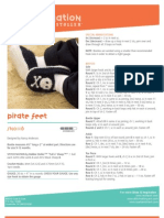 Pirate Slippers