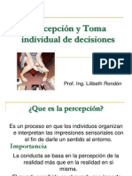 7828759 Percepcion y Toma Individual de Decisiones