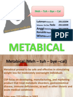 Metabical Harvard case study