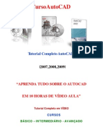 Video Aula AutoCAD 2007,2008,2009