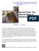 The Internet Book of Shadows
