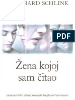 Bernhard Schlink Zena Kojoj Sam Citao