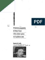 Del Castillo Ramón. El feminismo pragmatista de Nancy Fraser,crítica cultural y género en el capitalismo tardío