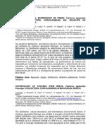 AUTOECOLOGÍA DEL BARRENADOR DE RAMAS Copturus aguacatae