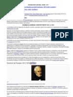 ORGANIZACIÓN  NACIONAL  DESDE   1813
