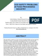 S1D3a-Los 10 Mayores Problemas de La Industria de Los Alimentos