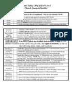 Life Chain Contact Checklist 2013