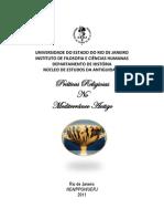 Livro de Religiao No Mediterraneo - Vol I