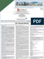 Cyrela Brazil Anuncio Distribuicao 11 Jul 2006 15h 30