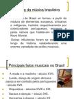 História da música brasileira