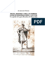 Bolivia Argentina y Chile Las Primeras Luchas de Resistencia Nativa 1535 1536 Un Capitulo de La g
