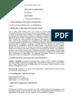 Programa Sociologia de La Argentinidad