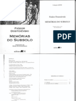 Memorias Do Subsolo Fiodor Dostoievski