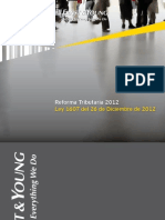 EY Edición Especial - Ley No  1607 del 26 de Diciembre de 2012