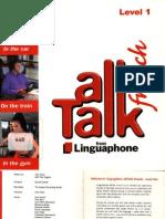 Linguaphone AllTalk French Level 1 Booklet