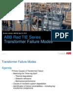 Transformer Failure Modes ABB 2013-04-16