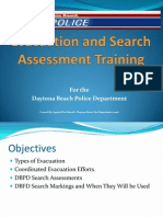 Evacuation and Search Assessment Training