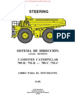Manual Sistema Direccion Camiones Mineros Caterpillar