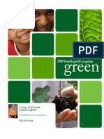 Homeowners Guide to Going Green 2009