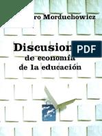 Discusiones de economía de la Educaión